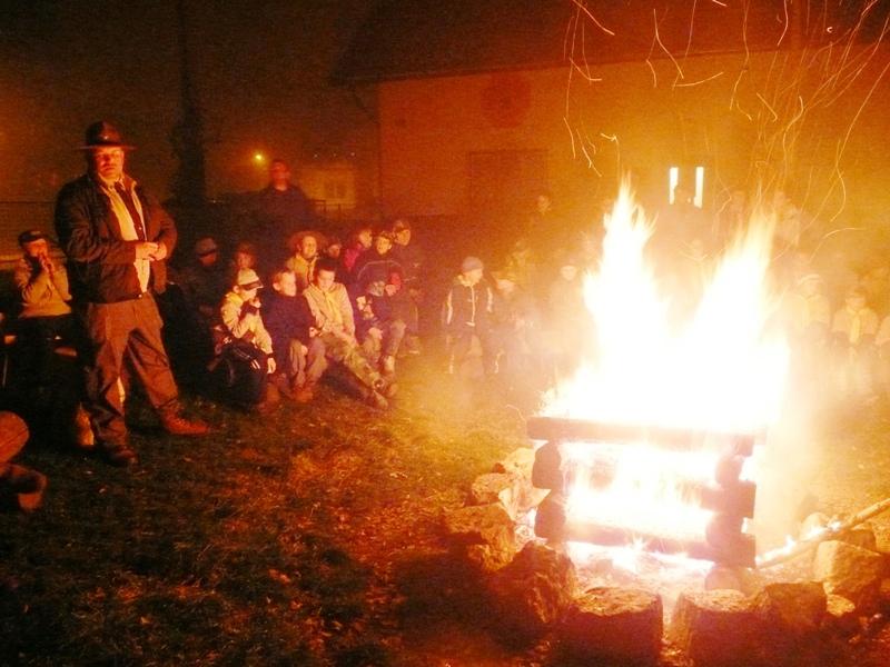 Podzimní oheň 20.10. 2012